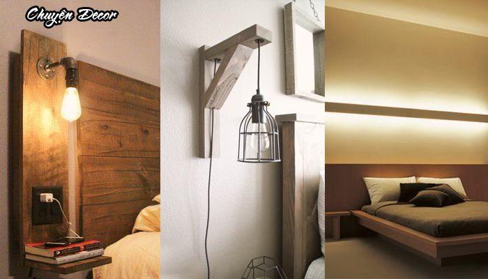 Đèn ngủ thiết kế độc đáo