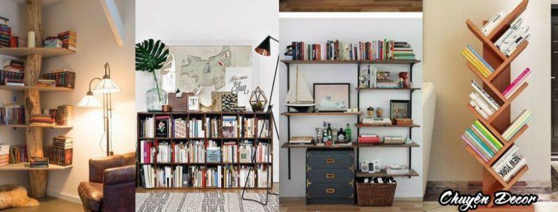 Kệ gỗ tủ sách