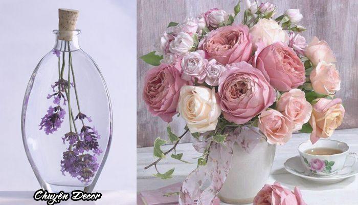Sử dụng hoa giả trong trang trí