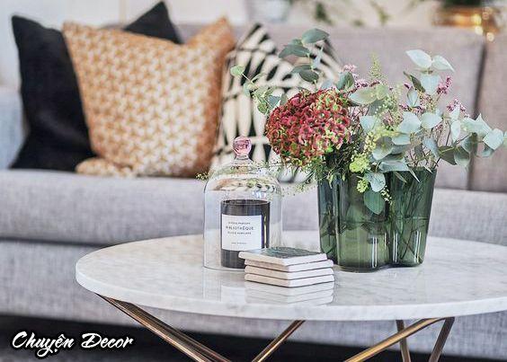 Các loài hoa trang trí phòng khách