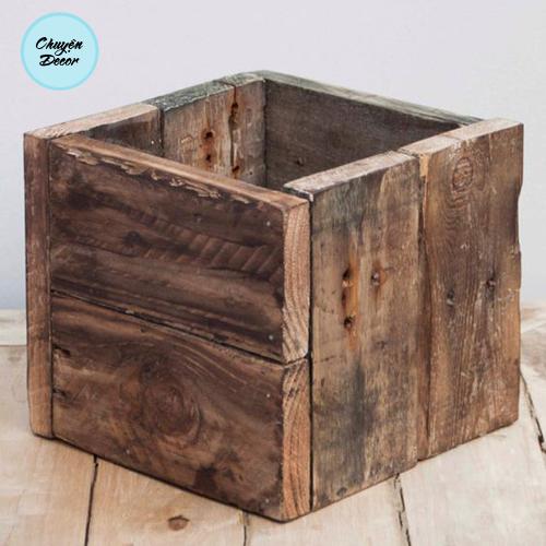 Hộp gỗ đựng vật dụng