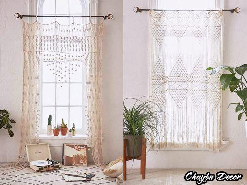 Rèm đan len